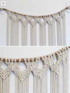 DIY Macrame Hanging | Green Wedding Shoes Wedding Blog | Wedding Trends for Stylish + Creative Brides: