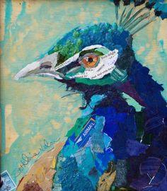 paper collage art | BrevardArtNews: Paper Painting Collage Workshop with Eliszbeth St ...