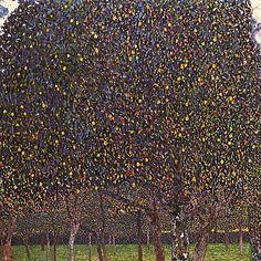Pear Tree - Gustav Klimt, 1903 / Busch-Reisinger Museum, Harvard University #GISSLER #interiordesign