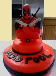 Image result for deadpool and deadshot cake
