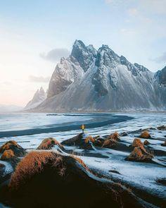 """Winter in Iceland"" Photos b Landscape Photography, Nature Photography, Travel Photography, Photography Aesthetic, Iceland Country, Iceland Photos, Nature Landscape, Iceland Travel, Wanderlust"