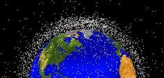 Space Garbage: The Dark Cloud Above: Smithsonian.com (Photo: NASA Orbital Debris Program Office)