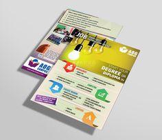 Leaflet Design for AOG Campus - Colombo