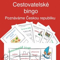 ČR - Cestovatelské bingo, pracovní listy k cestovnímu deníku Bingo, Teaching Geography