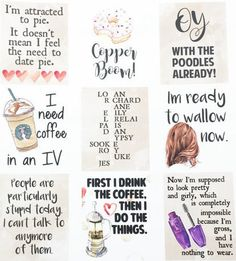 STICKERS. | 19 Things Every Gilmore Girls Fan Needs In Their Life More