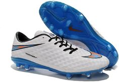 348411ea7 Nike Hypervenom Phantom FG 2014 FIFA World Cup Brazil football boots white  blue black