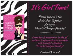 One of my theme shows! premier design, premierjewelri