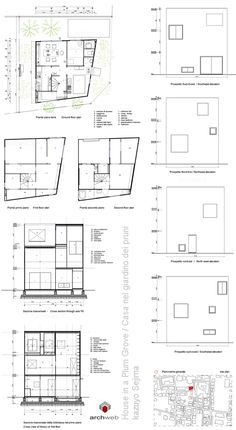 House in a Plum Grove dwg drawings