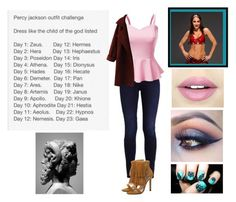 """Percy Jackson Outfit Challenge"" by moon-and-back-babe123 ❤ liked on Polyvore featuring WWE, Doublju, Chicnova Fashion and Fiebiger"