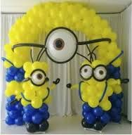 Image result for despicable me balloon arch