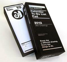 Daily Calendar / To Do List Pad.   I want!  Where do I buy this???