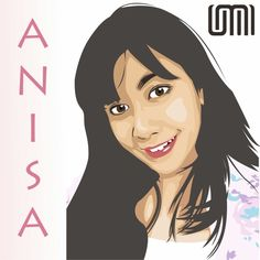 Anisa vector portrait