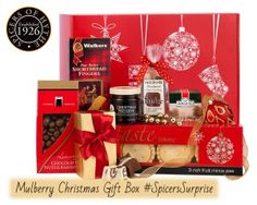 Mulberry Christmas Gift Box Hamper