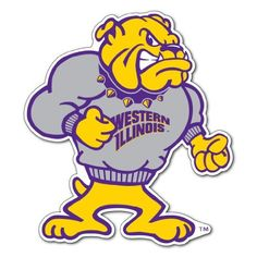 Western Illinois University - Rocky Shaped Magnet by VictoryStore, http://www.amazon.com/dp/B00DN7SOAA/ref=cm_sw_r_pi_dp_2XF7rb0GT5DV5