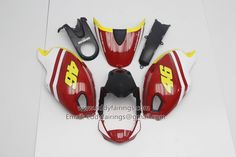 Valentino Rossi Ducati Monster 696 Motorcycle Fairing Kit Ducati 696, Monster 696, Ducati Monster, Valentino Rossi, Motorcycle, Kit, Accessories, Motorbikes, Motorcycles