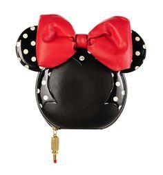 A Minnie Mouse Companion de Lulu Guinness. Collection Minnie / London Fashion Week.  #Minnie