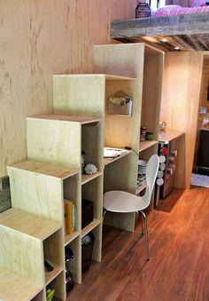 PHOTOS. Une petite maison de 13,5 mètres carrés construite par un étudiant qui voulait vivre sans dettes