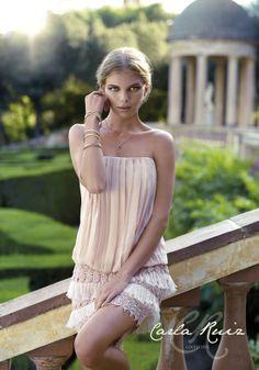 Carla Ruiz 2014 en www.vertize.es #boda #modanupcial #vestidosfiesta #vestidosnoche