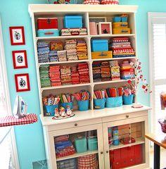 My fabric buffet | Flickr - Photo Sharing!