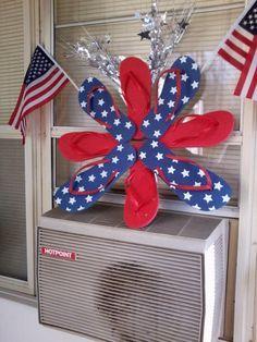 1000 Images About Patriotic Flip Flop Wreaths On Pinterest Flip Flop Wreaths Flip Flops And