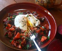 "This wonderful ""Red Flannel Hash"" is comfort food and good at breakfast or for dinner"