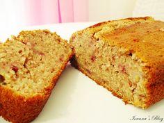 Κέικ μπανάνα-φράουλα-Banana-strawberry cake
