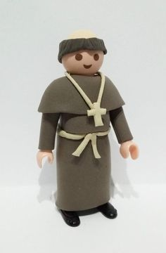 Tutoriales Custom! Suscribete a nuestro canal https://www.youtube.com/channel/UCbSsmoe3fN73VhB16QrhTWw?sub_confirmation=1  FIGURA CUSTOM MONJE SACERDOTE FRAILE PRIEST MEDIEVAL PLAYMOBIL BELEN