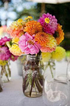 love dahlias, love the colors