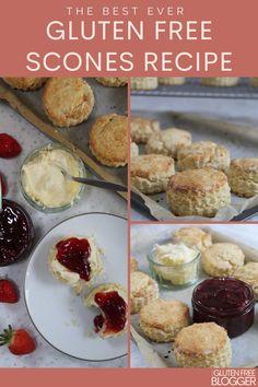 Dairy Free Scones, Gluten Free Biscuits, Gf Recipes, Gluten Free Recipes, Baking Recipes, Nut Free, Grain Free, Gluten Free Almond Cake, Gluten Free Party Food