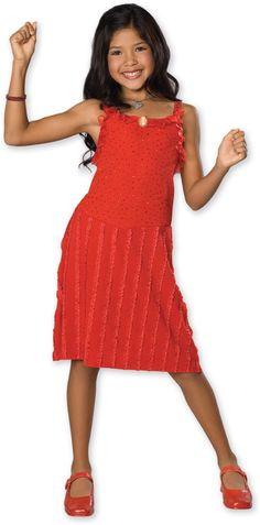 6561f860027 High School Musical Gabriella Fancy Dress Child Girl s Costume