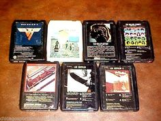 SOLD - Lot of (7) untested *-Track tapes : LED ZEPPELIN I & II , ROLLING STONES Beatles