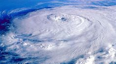 Typhoon over the Phillipines