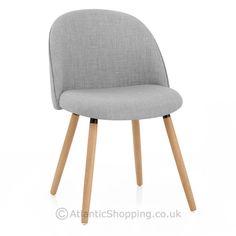 Verve Dining Chair Oak & Grey - Atlantic Shopping