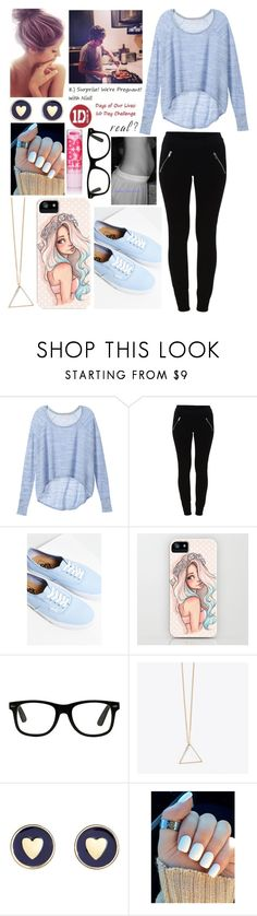 """""""Nothing really matters - Suprise! We're pregnant with Niall"""" by seresadel ❤ liked on Polyvore featuring Victoria's Secret, VILA, Vans, Brooks Brothers and Maybelline"""