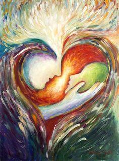 """PAINTING: Artist Valerie Sjodin - Intimacy SONG: """"Empty Me"""" - Chris Sligh"""