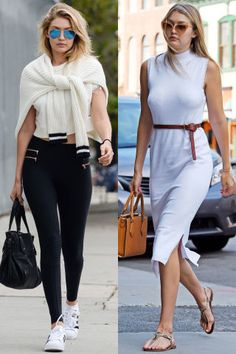 There's some intrinsic differences between Los Angeles and New York City—the weather, public transportation and many may argue, style. We looked at some of our favorite style stars and compared their off-duty looks from coast to coast. The verdict? We'll let you decide.