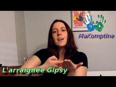 MaKomptine - L'araignée Gipsy [ Comptine signée en Makaton Français ] - YouTube