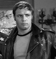 BRMC. Marlon Brando in The Wild One