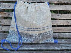 #Bolso MAIMIÑO de #tejido natural hecho en #telar #tradicional.