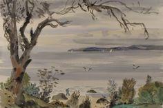 Max Angus (1915 -2017), View Across the Bay From Taroona, Tasmania 2014