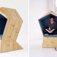 'Quiet' Sitting Booth by Studio Tilt | Inthralld