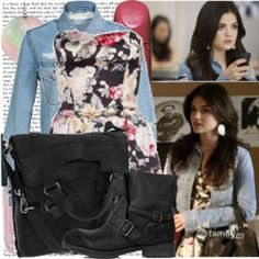 cute outfit inspired by Aria on PLL