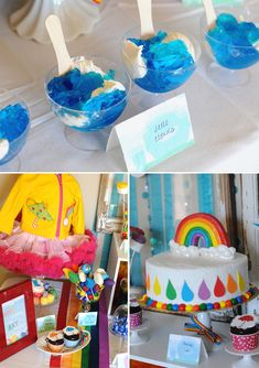 Rain Shower Baby Shower Themes | April Showers Bring May Flowers Party