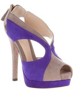 Fendi two tone sandal