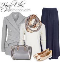 Hijab Chic: Carven wool jacket