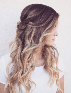 25 Schöne Abschlussball Frisuren Lange Haare