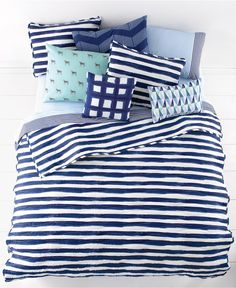 Martha Stewart Whim Collection Different Strokes Quilts - Bedding Collections - Bed & Bath - Macy's