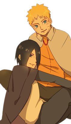 Naruto and Sasuke #Naruto