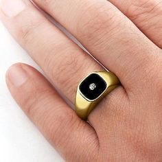 Cool Gold rings with diamonds Cool Gold rings with diamonds Solid 14k Gold MEN'S RING Black Onyx with GENUINE ... Check more at http://24store.ml/fashion/gold-rings-with-diamonds-cool-gold-rings-with-diamonds-solid-14k-gold-mens-ring-black-onyx-with-genuine/