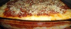 Aprenda a fazer Receita de Lasanha de Batata, Saiba como fazer a Receita de Lasa. I Love Food, Good Food, Yummy Food, Vegetarian Recipes, Snack Recipes, Dinner Recipes, Potato Recipes, Sweet Recipes, Dinner Ideas